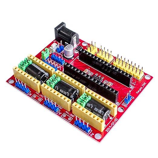 Paquete de 2 CNC Shield V4 máquina de grabado/impresora 3D/A4988 ...