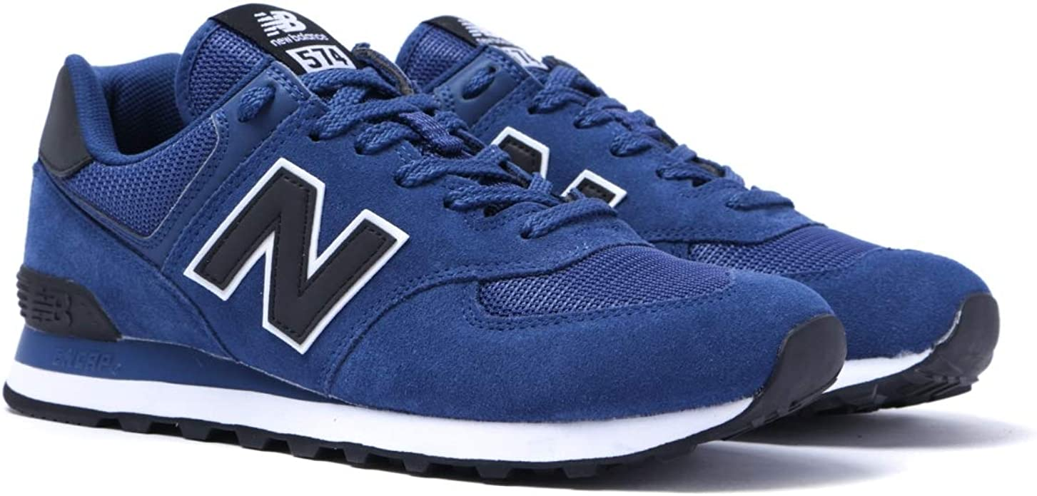 Balance 574 Blue Suede Trainers