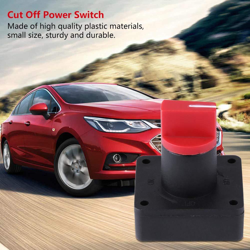 KIMISS 6MM 300A Auto LKW Boot Batterie Isolator Trennung Abschalten Power Kill Switch
