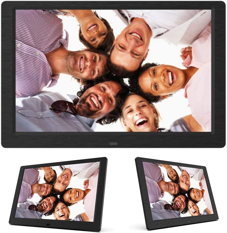 E-Book Etc. Video Support Music Lorchwise Digital Photo Frame,10 Inch IPS Full Angle View Screen,1280x800 High Resolution Photo Calendar