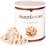 Nutristore Freeze Dried Chicken | Premium Quality | USDA Inspected | Amazing Taste | Perfect for Camping | Survival Food