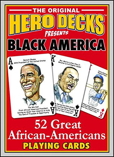 Search : Black America 52 Great African Americans Hero Deck Playing cards