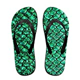 Bright Green Pastel Mermaid Unisex Fashion Beach Sandals - Best Reviews Guide