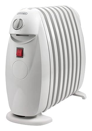 DeLonghi TRN0808 M - Radiador de aceite con 8 elementos, 800 W, color blanco