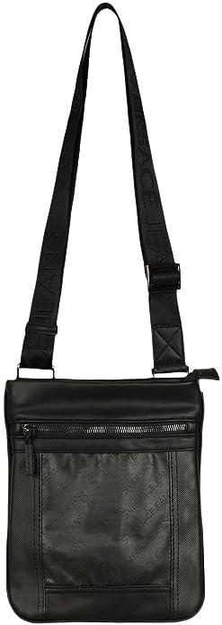 20d9fd7138f7 Versace Jeans Messenger Bag Black  Amazon.co.uk  Shoes   Bags
