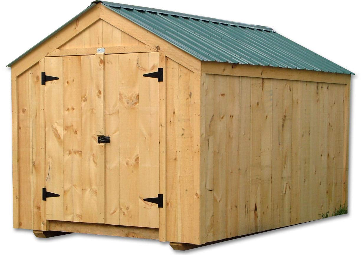 Amazon com: Post and Beam 8x10 Vermonter Shed Kit with Floor