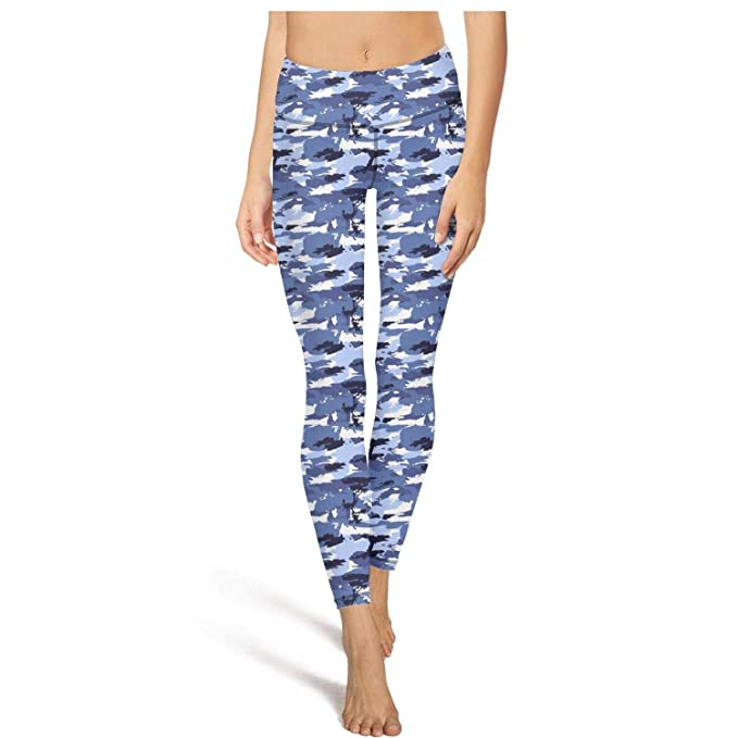 Amazon.com: Pantalones de yoga para mujer capri Leggings ...