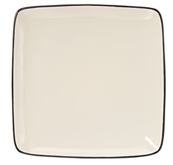 Cuisinart CDST1-DPW Melle Collection Stoneware Open Stock Square Dinner Plate 10.5-Inch  sc 1 st  Amazon.com & Amazon.com   Cuisinart CDST1-DPW Melle Collection Stoneware Open ...