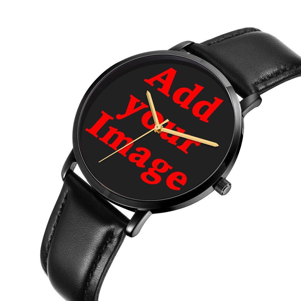 Kusa Fashion Panda Adventurer Wrist Watch, Panda Adventurer Pattern Design PU Leather with Stainless Steel Wrist Watch For Women and Men by Kusa (Image #2)
