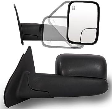 02-08 Ram 1500 03-09 2500 3500 Tow Extend FlipUp POWER Heated Mirror Driver Side
