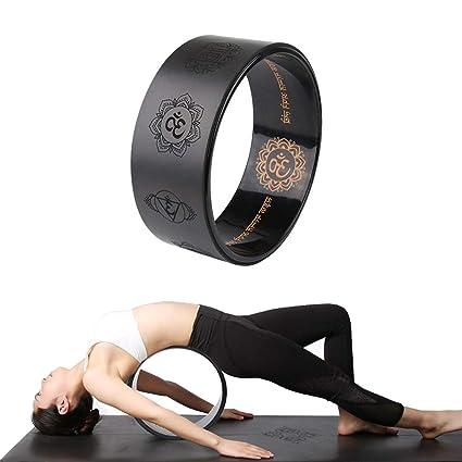 Grist CC Rueda de Yoga - [Serie Pro] Rueda de Apoyo de Yoga ...