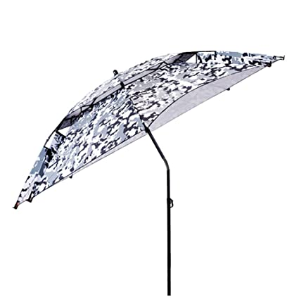 ZHUSAN Paraguas De Pesca De Gran Tamaño De Doble Capa De Ajuste Universal 360 ° Parasol