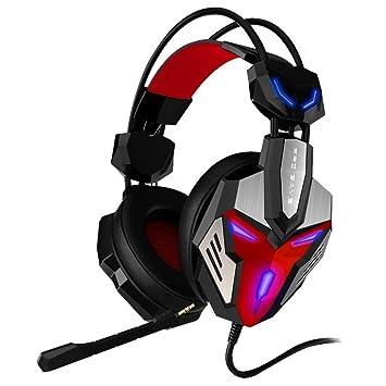 Alta precisión Gaming Auriculares con micrófono Audífono estéreo Razer 3.5mm Ideal para gamers juegos de