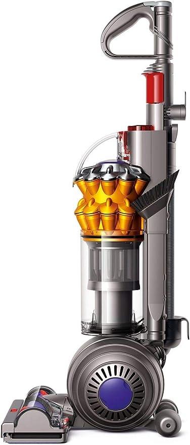 Dyson Small Ball Multifloor-Aspiradora sin Bolsa Vertical (900 W de Potencia, 80 W de succión, Capacidad del Cubo 0.8 litros, 5 años de garantía) Color Amarillo, 86 Decibelios, Metal, plástico: Amazon.es: Hogar