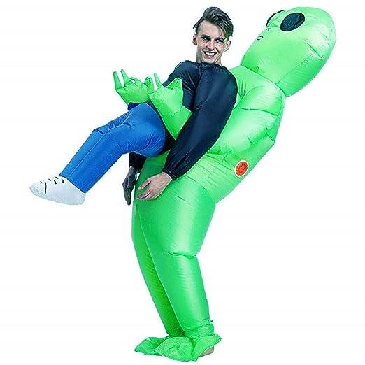 Vlago Traje Extraterrestre Inflable de Halloween para Adultos ...