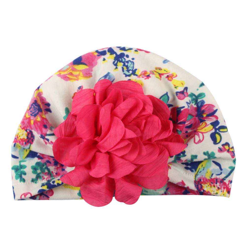 Clode/® Cute Baby Girls Toddler Kids Flower Knot Turban Headband Hairband Headwrap Headwear for Photography Props Party Costume