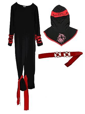 Amazon.com: Ninja Warrior Costume for Kids [784]: Clothing