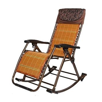 L&J Silla Mecedora Plegable, Portables sillas reclinable ...