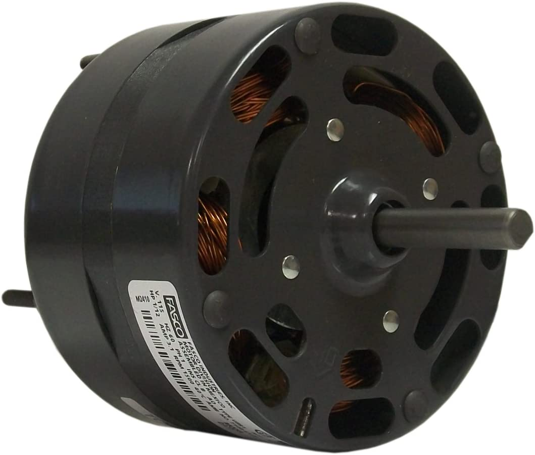 Fasco D374 Blower Motor, 4.4-Inch Frame Diameter, 1/8 HP, 1500 RPM, 115-volt, 4-Amp, Sleeve Bearing