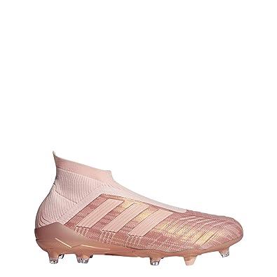 db028bfb96f adidas Predator 18+ FG Cleat - Men s Soccer 7.5 Clear Orange Trace Pink