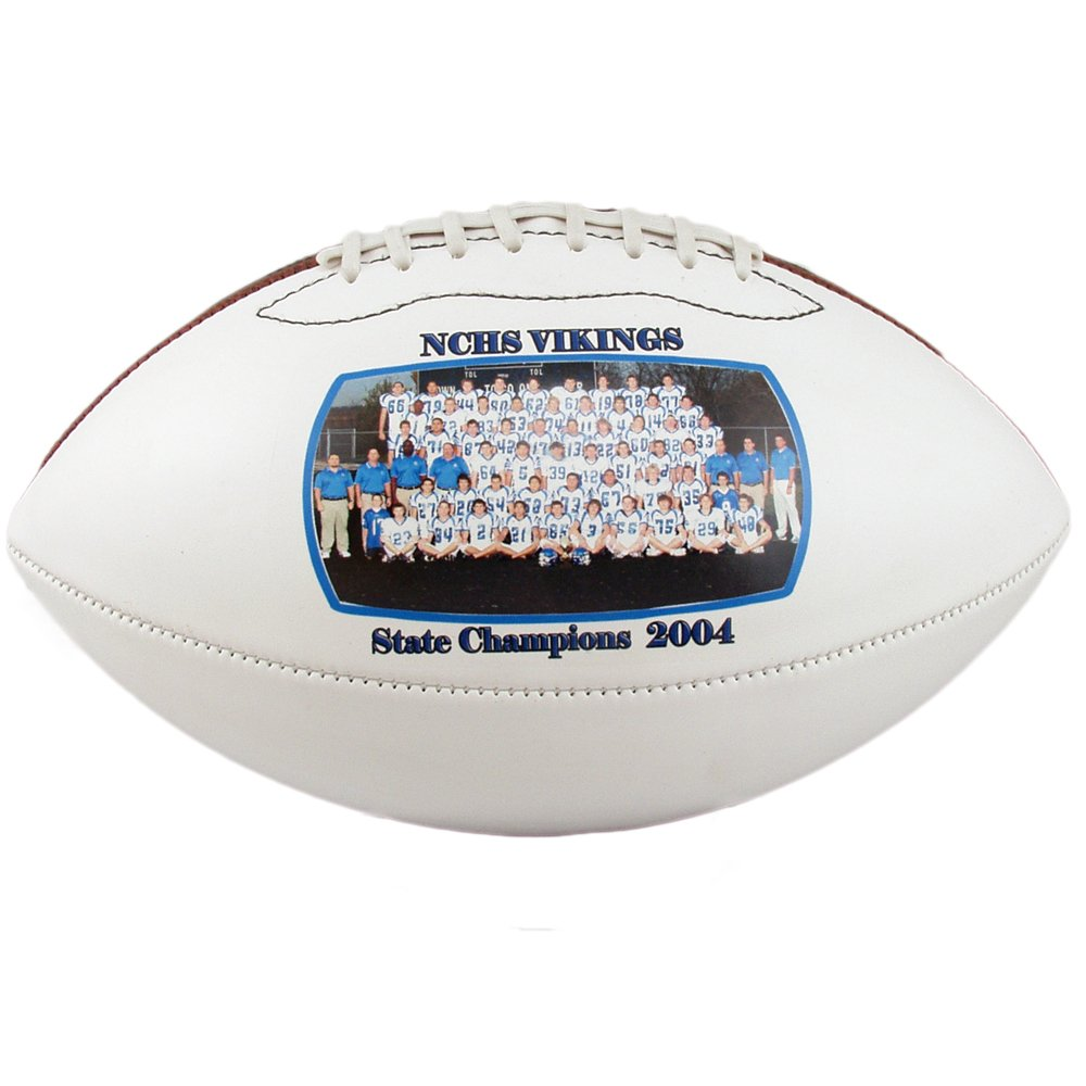 Personalized Custom Photo Regulation Football - Any Image - Any Text - Any Logo by Personalized Sports Balls (Image #2)