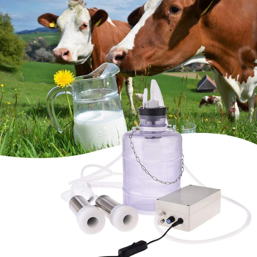 Amazon.com: Máquina eléctrica de leche de vaca con bomba de ...