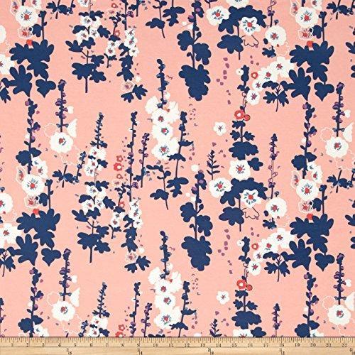 Art Gallery Fabrics Jersey Knit Coastline High-Flown Fabric by the Yard, Lunar by Art Gallery Fabrics