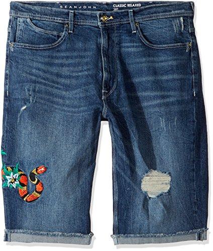 Embroidered 5 Pocket Jean - 5