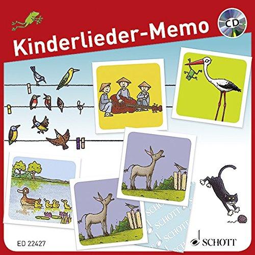 Kinderlieder-Memo  +CD