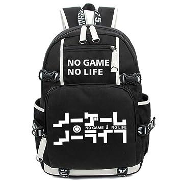 YOYOSHome Anime No Game No Life Cosplay Noctilucence Messenger Bag Backpack School Bag