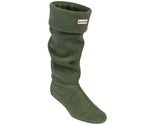 Hunter - Calcetines de forro polar para botas de agua, color verde, talla XL: Amazon.es: Zapatos y complementos