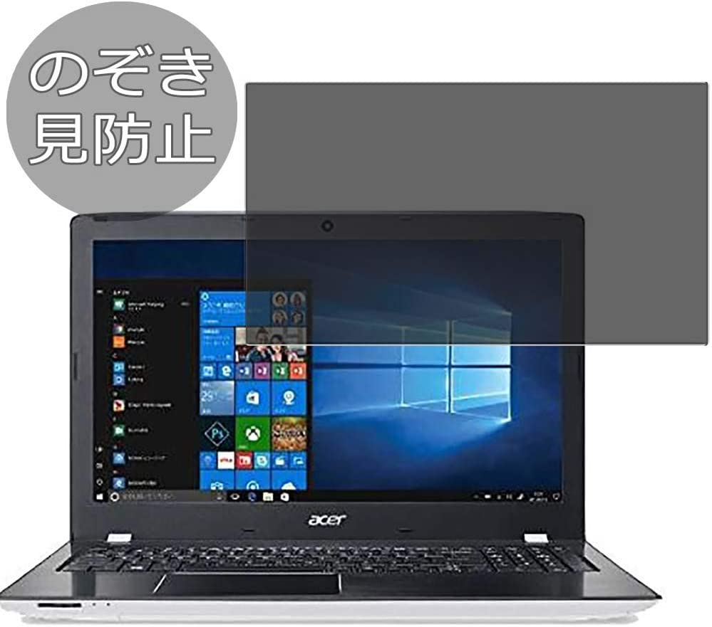 """Synvy Privacy Screen Protector Film for Acer Aspire E15 E5-576-N58GW 2018 15.6"""" Anti Spy Protective Protectors [Not Tempered Glass]"""