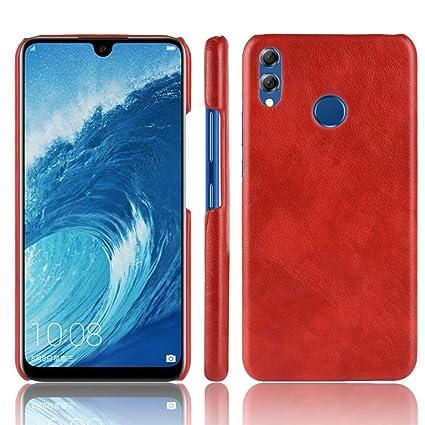 huge discount c4fdb e8f10 Amazon.com: Torubia Huawei Honor 8X Case,Girls Back Cover [Scratch ...