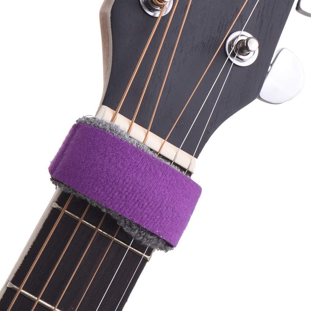Muslady Fret Wraps de guitare Cordes Muet Muter Touche de sourdine pour guitares /électriques 6 cordes normales