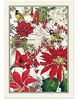 Lovely Michel Design Works Cotton Kitchen Dish Towel, Merry U0026 Bright