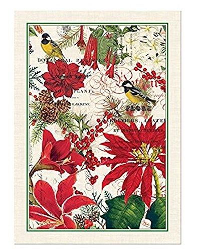 Michel Design Works Cotton Kitchen Dish Towel, Merry & Bright