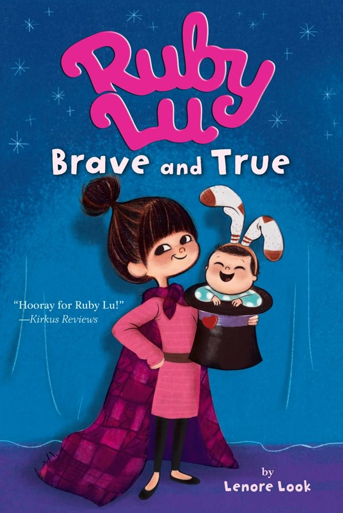 The Best Chapter Books for 1st Graders featured by top Seattle lifestyle blogger, Marcie in Mommyland: Ruby Lu