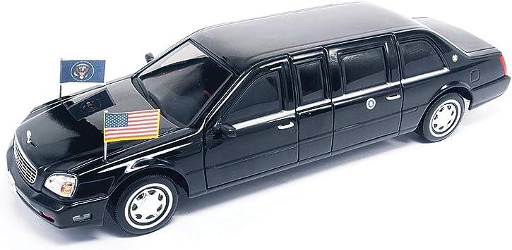 Sun Star 1:18 2004 Fertigmodell schwarz Cadillac DeVille Limousine Modellauto