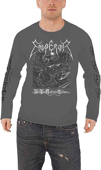 Emperor T Shirt The Wanderer Band Logo Noir Metal Nouveau Officiel Homme