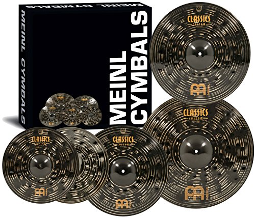 meinl-cymbals-ccd460-18-classics-custom-dark-pack-bonus-cymbal-box-set-with-free-18-dark-crash-video