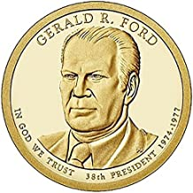2016 P Gerald R Ford - Bankroll of 25 Presidential Dollars Uncirculated