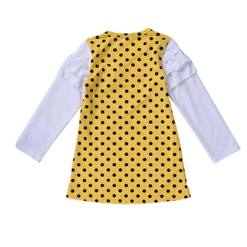 Vestido Princesa Niñas Ropa de manga larga para niños By LMMVP: Amazon.es: Ropa y accesorios
