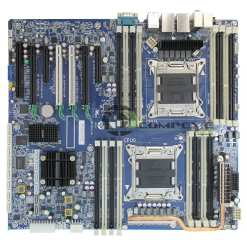 Packard Hewlett Motherboard 001 (HP Z820 Intel LGA2011 DDR3 Motherboard WorkStation 618266-003 708610-001 708610-601)
