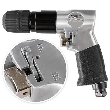 Taladro Neumático para Compresor | Reversible Automático 9,5 mm de Aire Comprimido 1.800 rpm para Ferretería | Reparación, Mobiliari: Amazon.es: Bricolaje y ...
