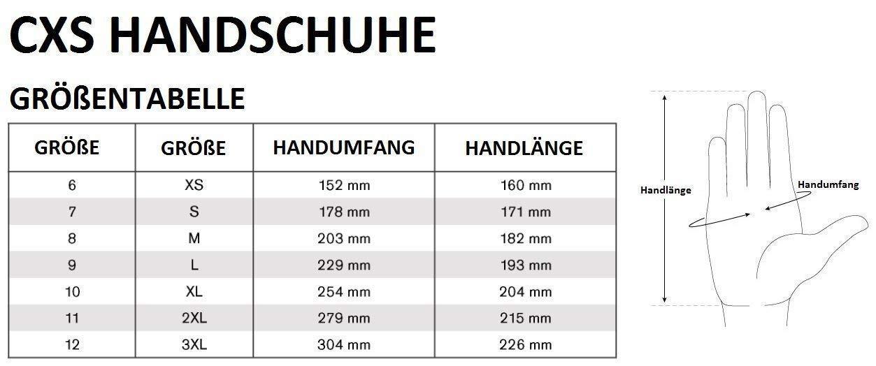 , Noir Confortable 2 Pack Service Atelier id/éal pour travaux de r/éparation Travailler CXS Brita Gants de Travail Montage antid/érapant Gants sans Couture Lot de 12 Industrie Automobile 8