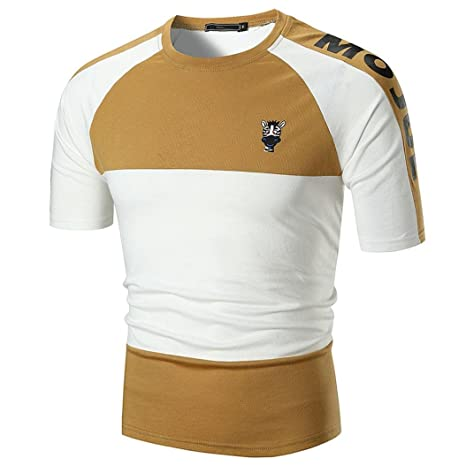 Hmlai Camisas para Hombre, Personalidad Cebra & Jirafa Estampado ...