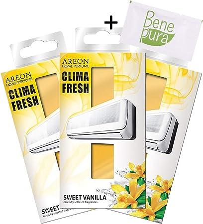 Areon Clima Fresh - Ambientador para el hogar y la oficina en forma de pequeño filtro perfumado para