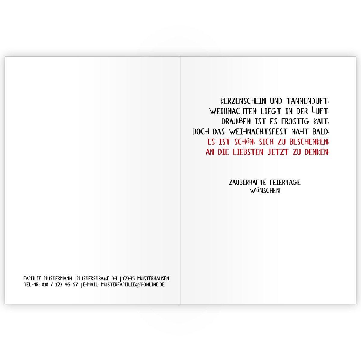 100er Set Fröhliche Fröhliche Fröhliche Unternehmen Weihnachtskarten mit, mit Weihnachtskugeln jonglierendem, Schneemann, innen blanko  weiß als geschäftliche Weihnachtsgrüße   Neujahrskarte   Firmen Weihnachtskarte für Kunden, Geschäftsp e246c0