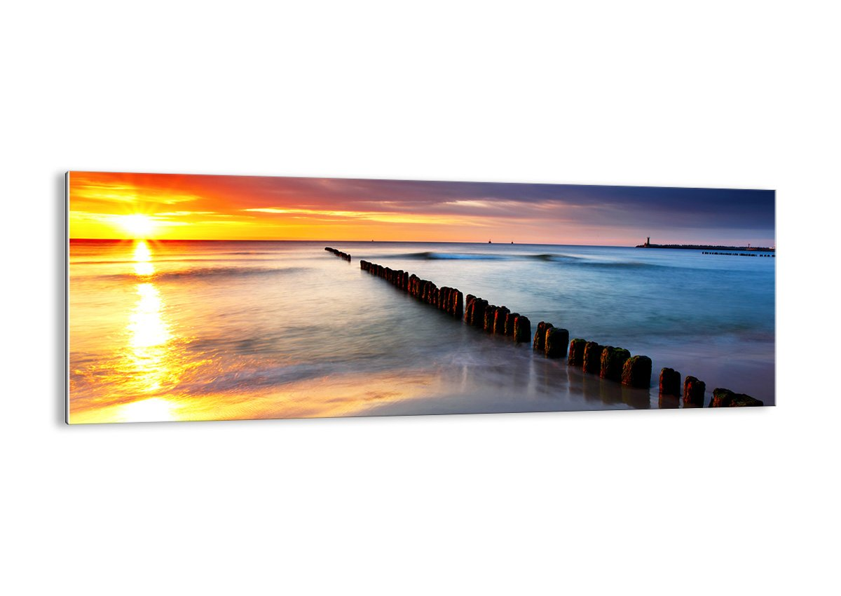 Glass Picture - Glass Print - 1 part - Width: 90cm, Height: 30cm (Width 35,4, Height 11,8) - photo no. 2781 - Ready to Hang - wall art print - Picture on glass - Image printed on glass - art on glass - Art print Images - GAB90x30-2781 4 ARTTOR