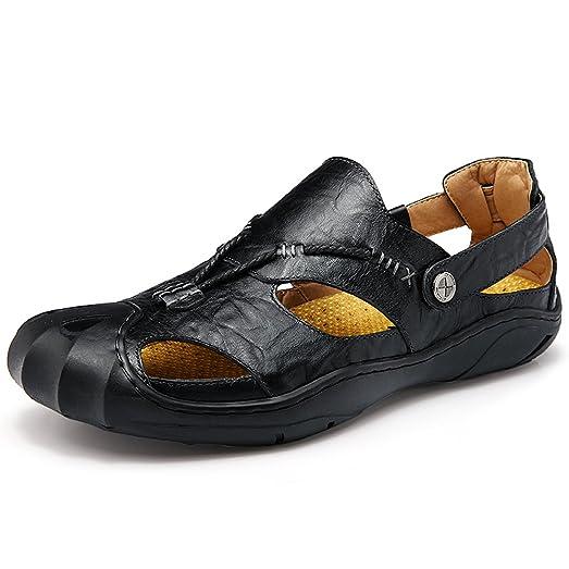 Men's Fisherman Sandal Leather Casual Outdoor Sport Shoe